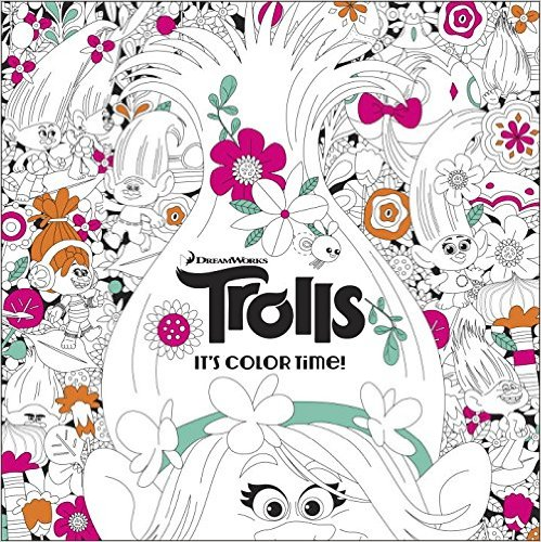 trolls - The Official Trolls Coloring Book