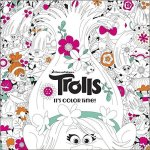 trolls - Hidden in the Jungle - An Anti Stress Colouring Book