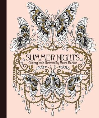 SummerNightsColoringBook - Summer Nights Coloring Book Review