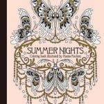 SummerNightsColoringBook - Home Sweet Home - A Hand Crafted Coloring Book