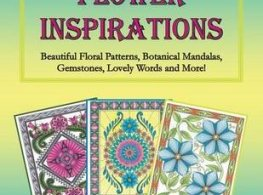 FlowerInspirations - The Story of Pandora - A Fantasy Colouring Book