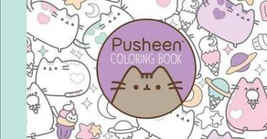 pusheen coloring book - The Mysterious Library Coloring Book (Korean Edition)