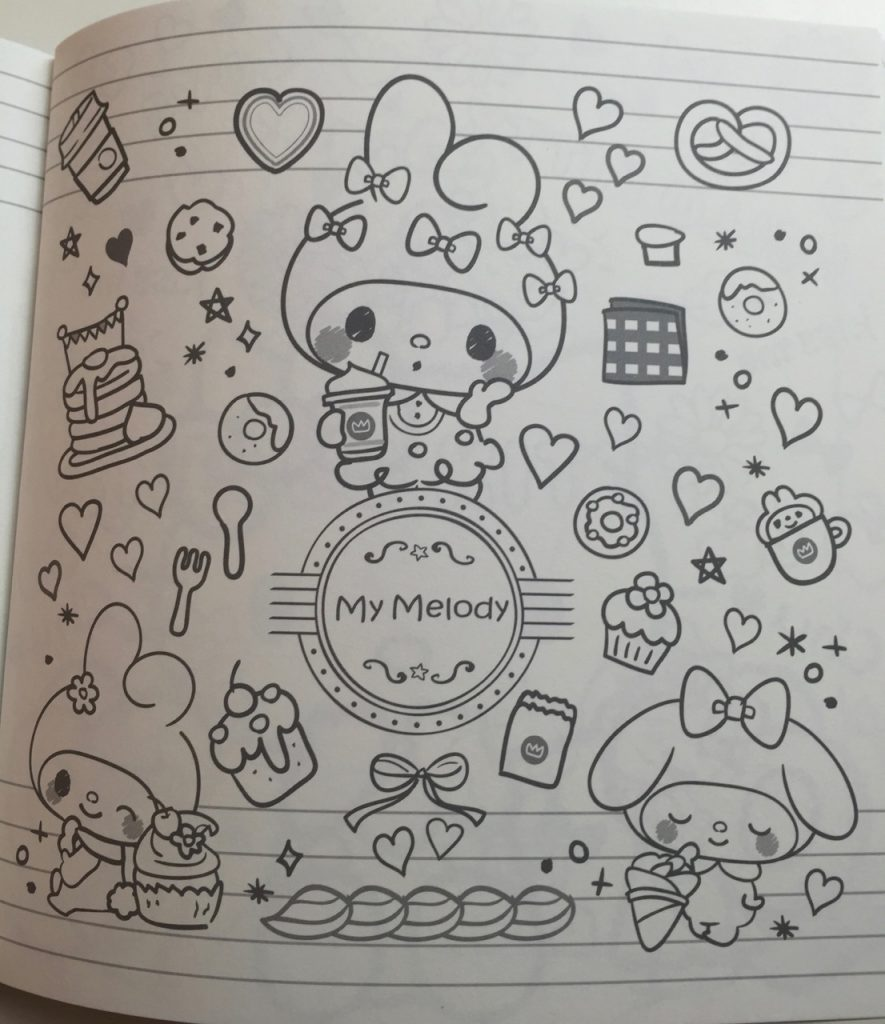 Sanrio Characters  Happy Coloring Pledge  Hello Kitty  Friends