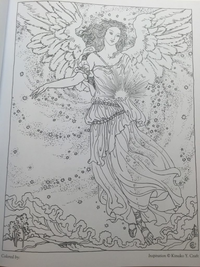 A fun magic coloring book amazon - Myth Magic Coloring Book Illustration Gallery Click On An Image To View It In More Detail