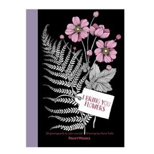I Bring You Flowers – Postcard Book