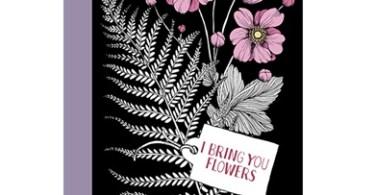 i bring you flowers   20 vykort att farglagga - I Bring You Flowers - Postcard Book