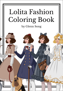 Lolita Fashion – Coloring Book for Adults