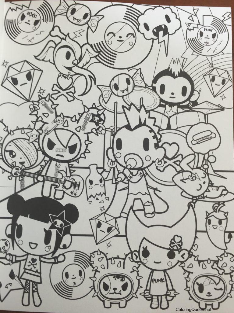 4019566537 tokidoki coloring book