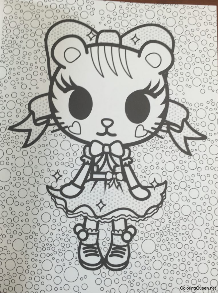 tokidoki coloring book coloring queen - Tokidoki Donutella Coloring Pages