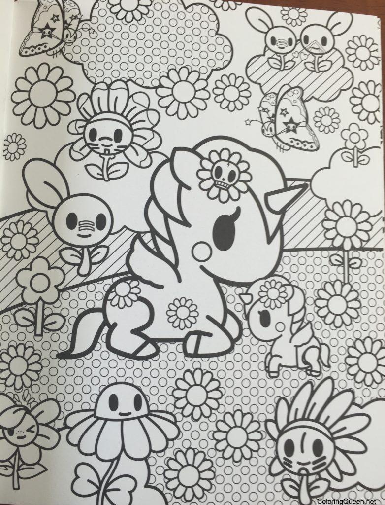 Tokidoki Unicorno Coloring Pages