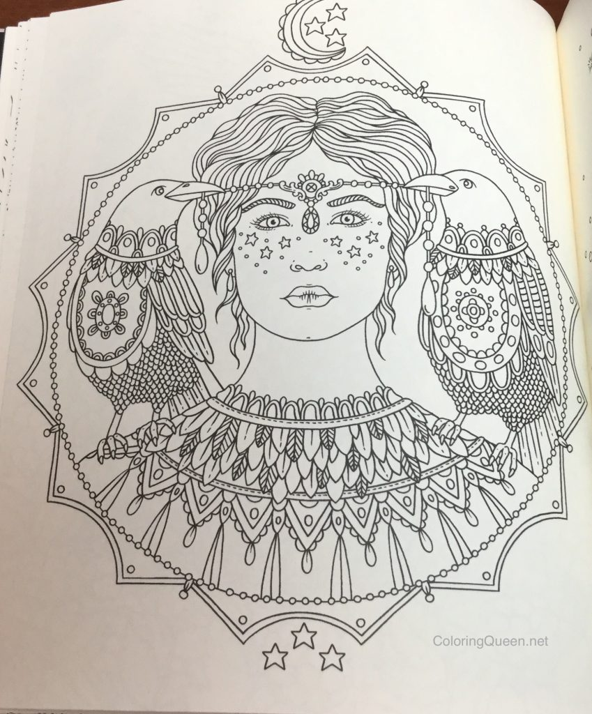 Magical City Coloring Book Review Dawn Queen