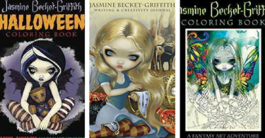 Untitled design - Jasmine Becket-Griffith Journal & New Coloring Book