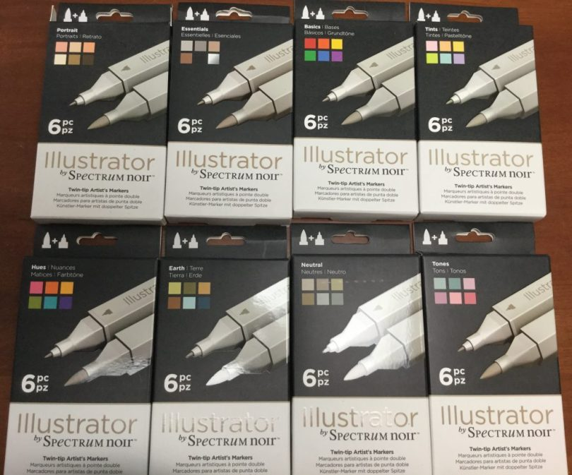 FullSizeRender 7 1024x851 - Spectrum Noir Illustrator Markers Unboxing