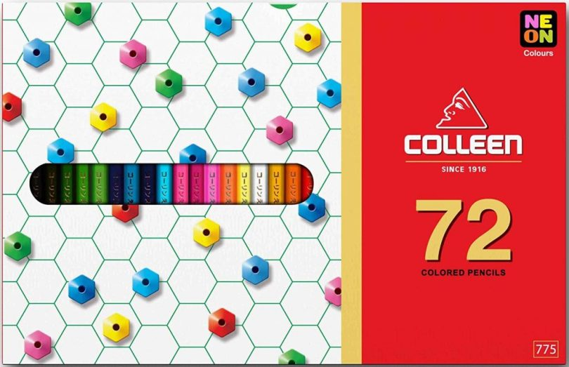 colleencoloredpencils - Colleen Colored Pencils - Neon 72 pc