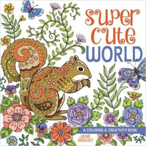 Super Cute World Coloring Book Review