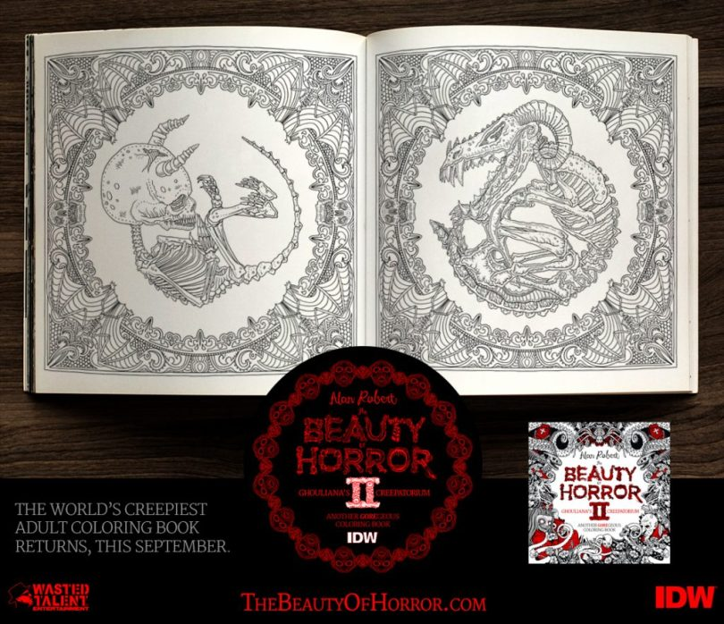 BOH2 Interior Examples B 1024x883 - Cover Reveal & Sneak Peek Inside The Beauty of Horror II by Alan Robert