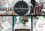 TICKET TO 1 - Coloring Books - New Releases - April - 2017