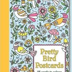 Pretty Bird  Patterns Postcard  Cover art
