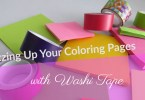 jazzingupyourcoloringpageswithwashitape - Jazzing up your Coloring Pages with Washi Tape