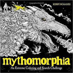 Mythomorphia: An Extreme Coloring and Search Challenge Coloring Book Review