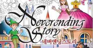 NeverendingStory KoreanColoringBook - Petite Picture Snow White Princess Coloring Book Review