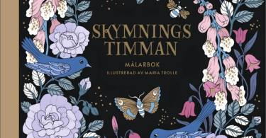 Skymningstimman coloring book cover by Maria Trolle