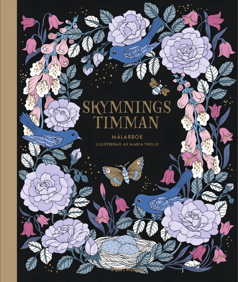 Skymningstimman Coloring Book