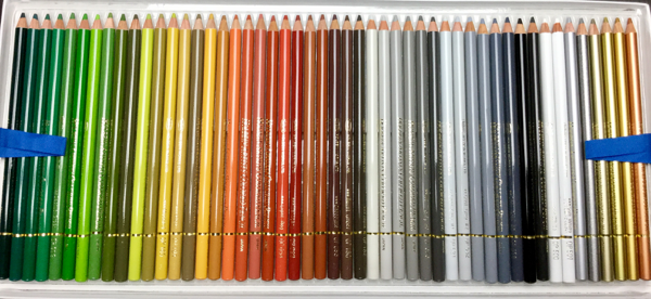 Holbein Colored Pencils (150 pc) Set Review   Coloring Queen