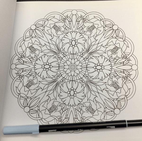 flower mandalas colouring book review  9 - Flower Mandalas Coloring Book Review
