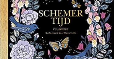 dutch edition of maria trolles coloring book skymningstimman