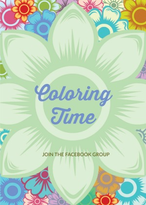 join the community at Facebook - Coloring Time