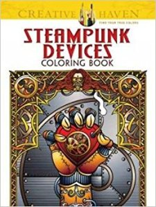Steampunk Devices Coloring Book Review