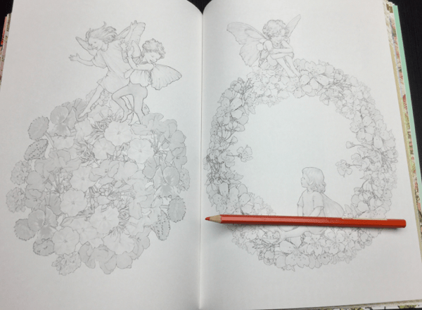 flower fairies japanese coloring book review 28 - Flower Fairies Coloring Book Review