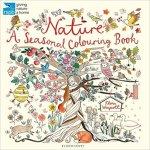 Nature a seasonal colouring book - The Time Garden A5 Notebook - Daria Song