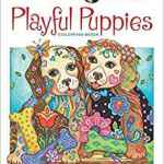 playfulpuppiescoloringbook - Dazzling Dogs - Coloring Book Review