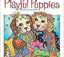 playfulpuppiescoloringbook - To The Ends of the Earth And Back Again Coloring Book Review