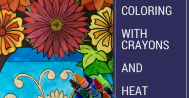 coloring with crayons and heat - Coloring with Crayons and Heat