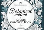 Botanical Weave Coloring Book cover