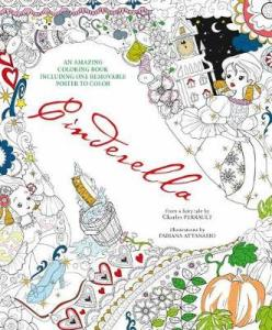 Cinderella:  An Amazing Coloring Book Review
