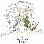 51WsXmRrRL. SY400  - Cat Coloring Therapy Coloring Book Review
