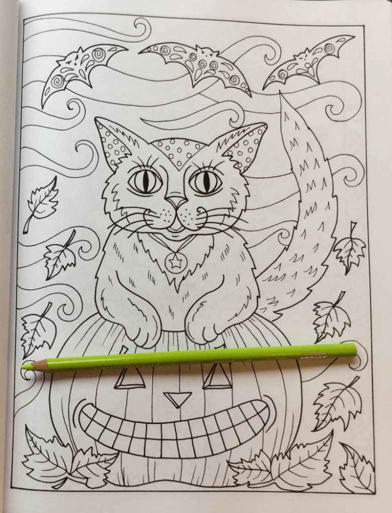 Halloween Cats Coloring Book8 782x1024