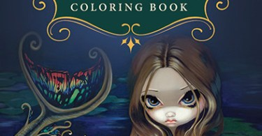 mermaids coloring book jasmine becket griffith - Professor Takashi Asada's Brain Train Coloring Book Review  Review