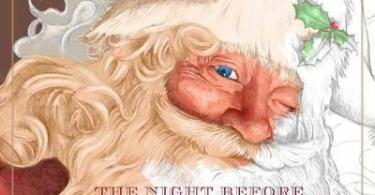thenightbeforechristmas charlessantore - The Night Before Christmas Coloring Book Review