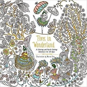 Elves in Wonderland Coloring Book Review