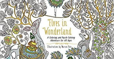 elvesinwonderland  - Elves in Wonderland Coloring Book Review