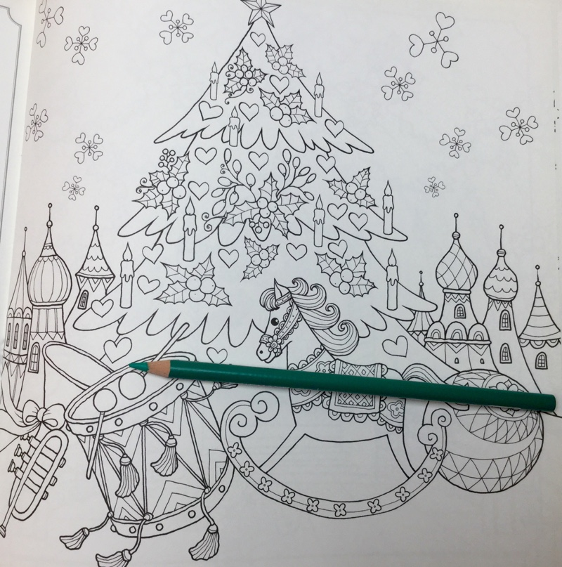 IMG 4333 - Christmas Nutcracker  Coloring Book Review