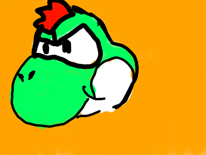 Colors Paper Year Mario Door Thousand Yoshi