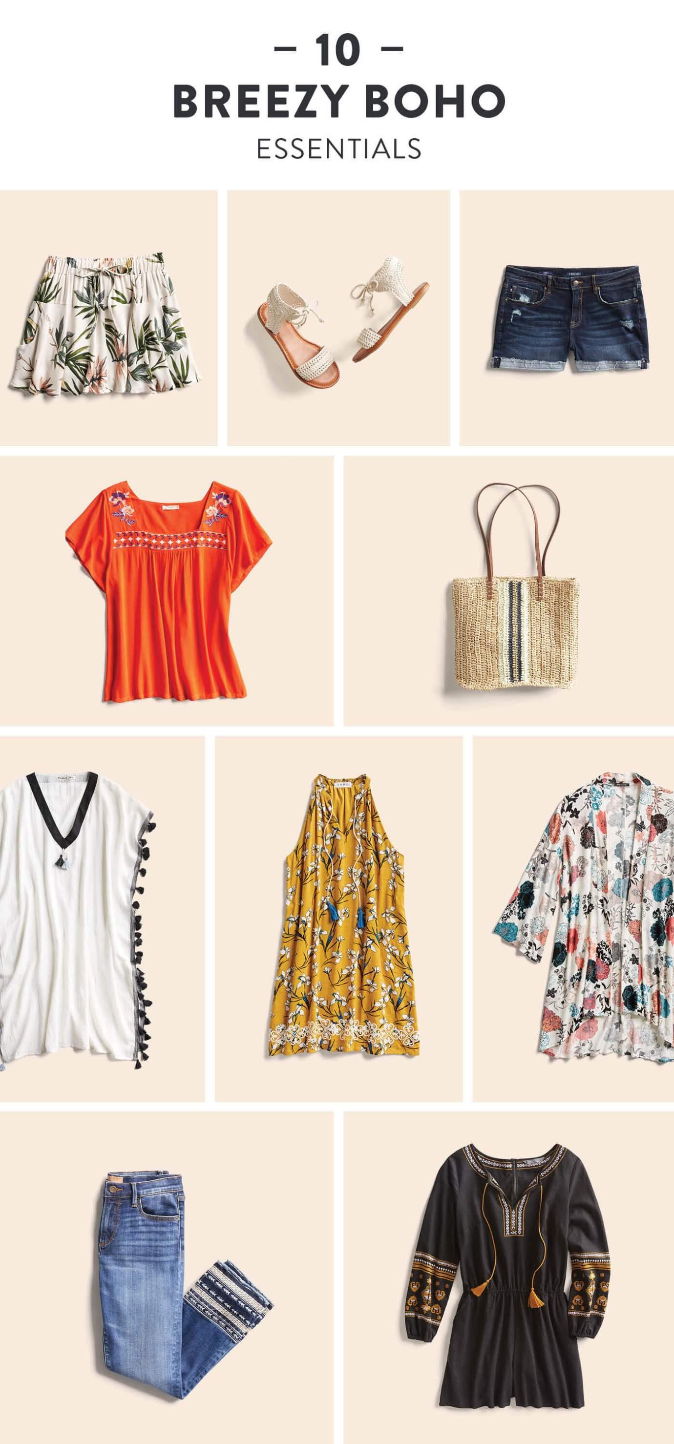 Boho Wardrobe Essentials
