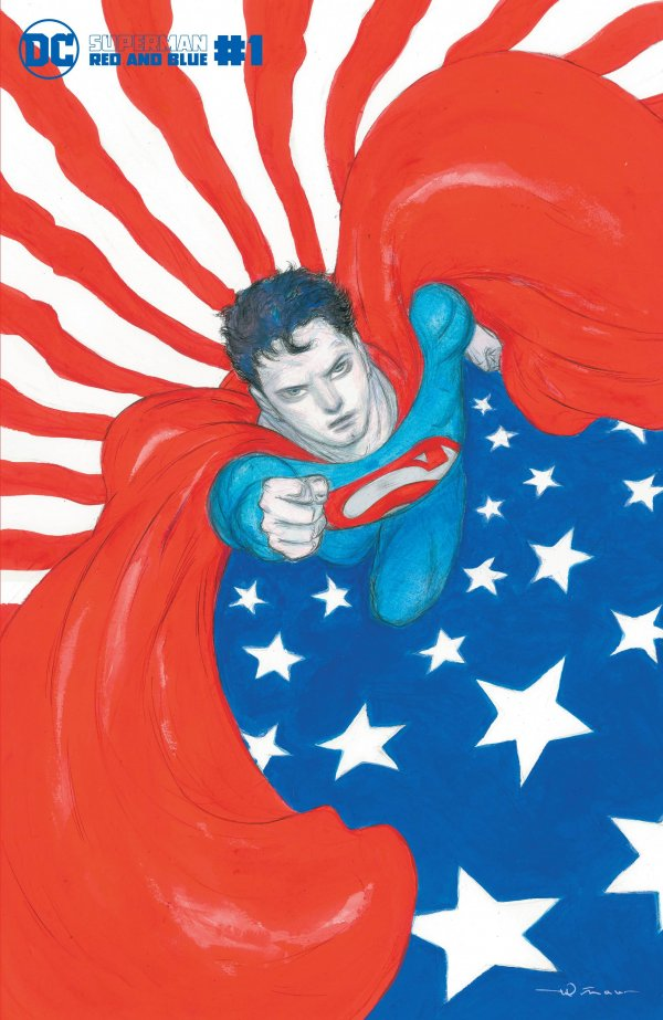 Superman: Red & Blue #1 Review   The Aspiring Kryptonian