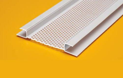1 In X 10 Ft Plastic Components Continuous Soffit Vent At